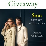 Ottica $100 Gift Card Giveaway [Ends 9/3]