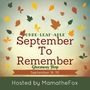 Unbe-Leaf-Able September To Remember Giveaway Hop ~ $25 Victoria's Secret Gift Card [Ends 9/30]