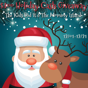$300 Holiday Cash Giveaway [Ends 12/21]