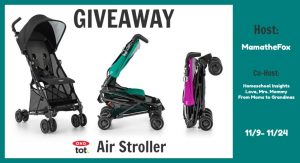 OXO Stroller Giveaway [Ends 11/24]