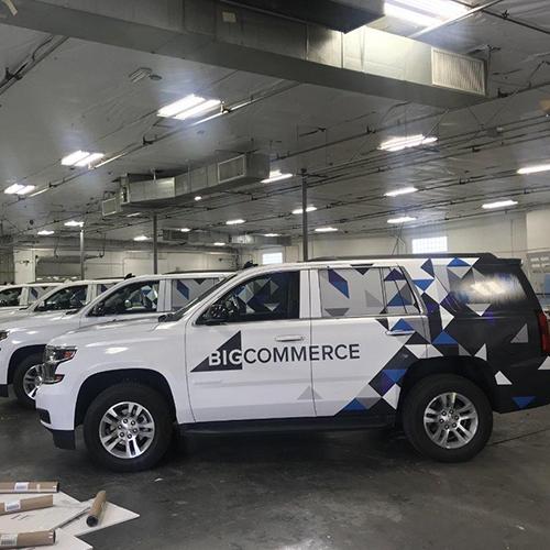 Big Commerce Vehicle Wraps