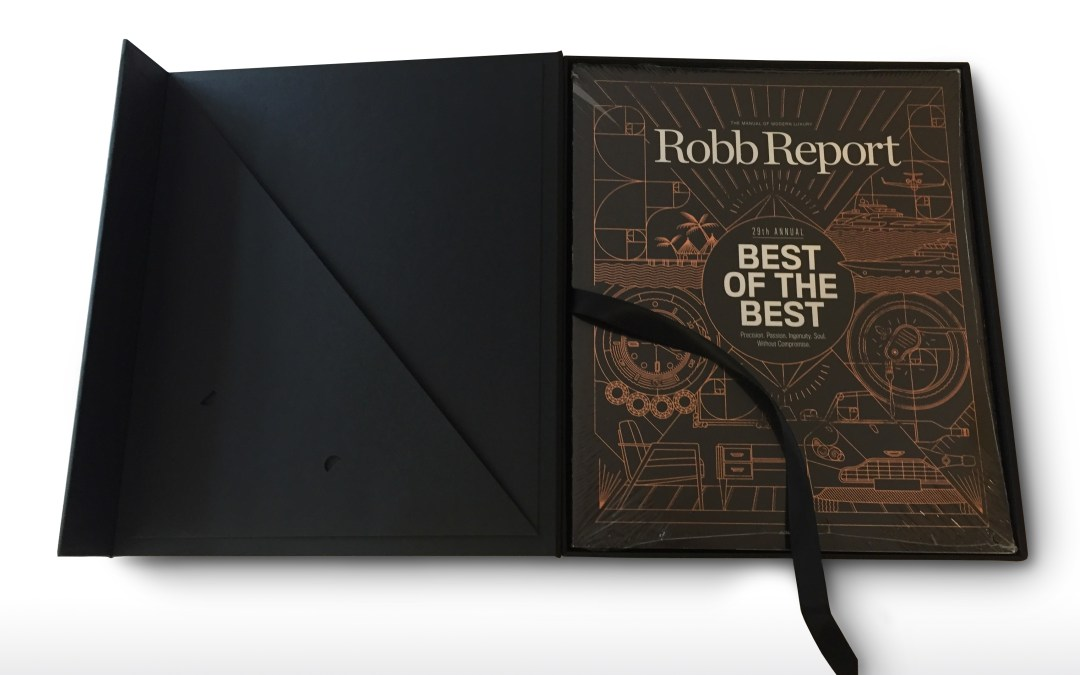 """Robb Report """"Best of the Best"""" Case"""