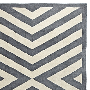 Pewter Charing Cross Rug Serena & Lily