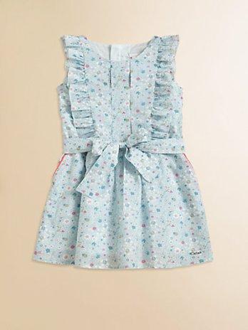 Chloe Toddler's (& Little Girl's) Floral Print Dress. Saks Fifth Avenue Easter