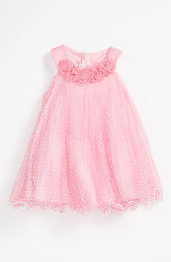 Bonnie Baby Iris & Ivy Trapeze Dress (Toddler) in Pink. Nordstrom Easter