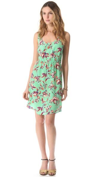 Joie Verdon Printed Dress in Julep. Shopbop