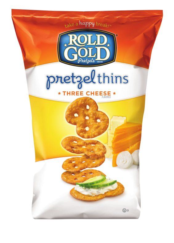 Rold Gold Pretzel Thins Three Cheese
