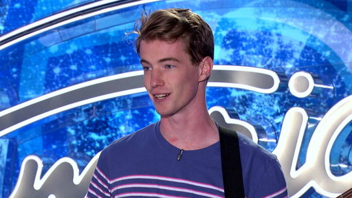"American Idol Auditions: James Killian Dunn shows off his well-honed falsetto and the confidence to flirt with Jennifer Lopez during his ""American Idol"" audition."