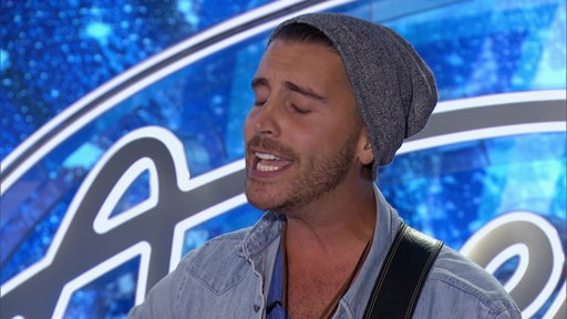 "Nick Fradiani sings Peter Gabriel's classic song ""In Your Eyes"" during his American Idol season 14 audition."