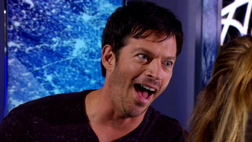 You know you've made an impression on Harry Connick, Jr. when he's immediately imitating your laugh.