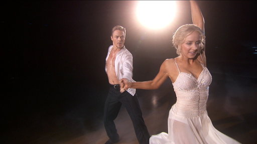 "Dancing With The Stars season 20 episode 2: Olympic gold medalist Nastia Liukin dances a sensual rumba with partner Derek Hough (to the tune of Ed Sheeran's ""Thinking Out Loud"") on Monday, March 23, 2015!"
