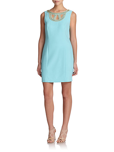 Lilly Pulitzer Mary Lane Shift Dress in Shorely Blue