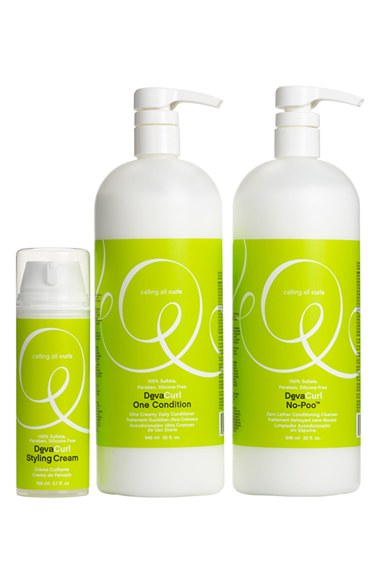 DevaCurl 'More is More' Set ($104.50 Value) No Poo Zero Lathering Conditioning Cleanser, One Condition Ultra Cream Daily Conditioner, Styling Cream.