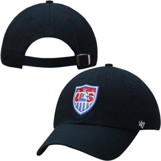 '47 Brand Team USA Navy Clean Up Adjustable Hat