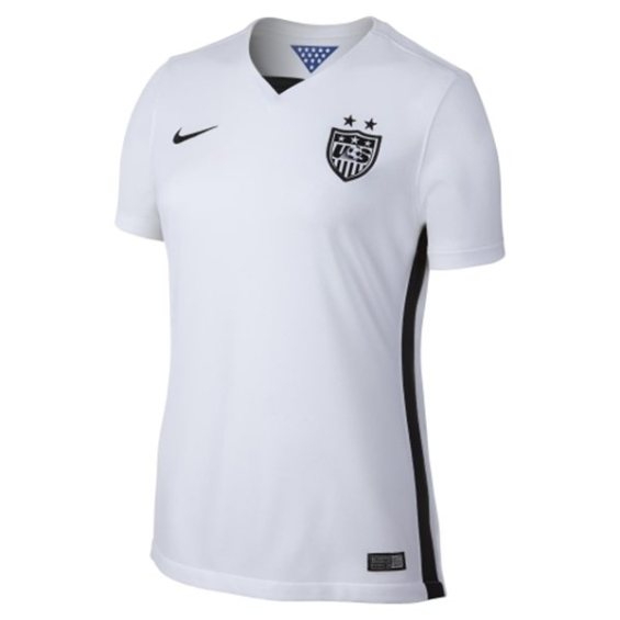Nike USA Women's Home Replica Jersey - White