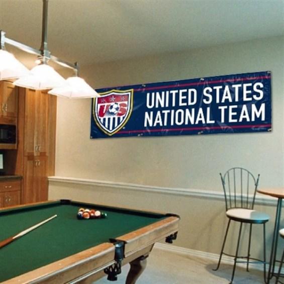 WinCraft USA 2' x 6' Vinyl Banner Flag