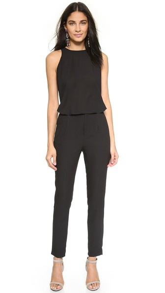 cupcakes and cashmere Bradbury Jumpsuit in Black