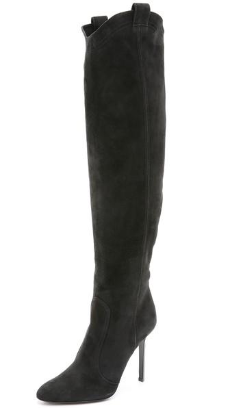 Tamara Mellon Crazy Ride Boots in Black