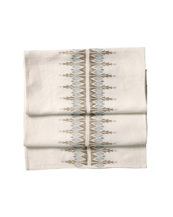 Bergen Table Runner. Serena & Lily