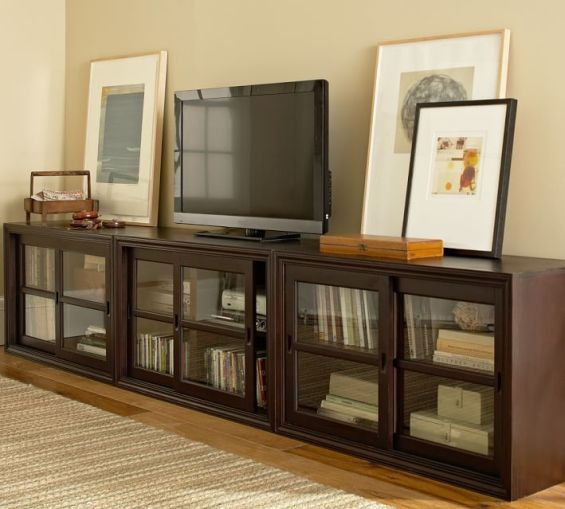 pottery barn media console sale 20 off entertainment centers media suites and more candace. Black Bedroom Furniture Sets. Home Design Ideas