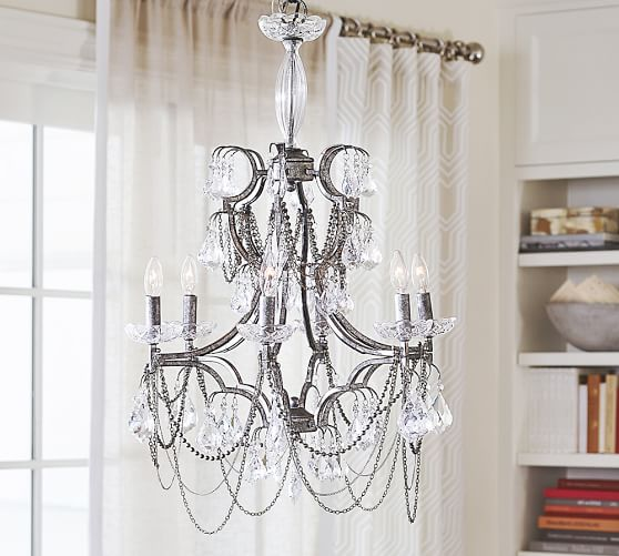 Pottery Barn SERENA NECKLACE CHANDELIER