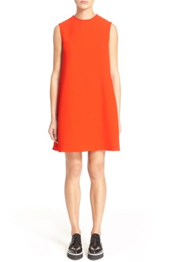 McQ by Alexander McQueen Trapeze Dress Red