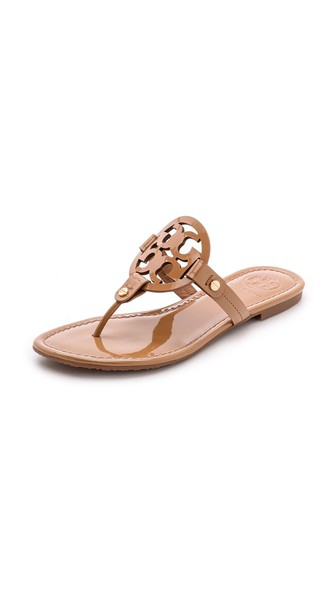 Tory Burch Miller Thong Sandals Sand Shopbop Spring Sale
