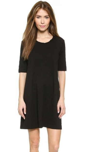 Wilt Trapeze Tee Dress Black trapeze dresses for easter spring