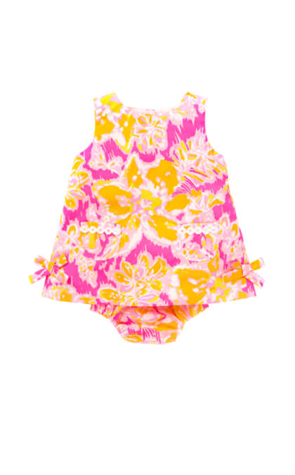 Lilly Pulitzer BABY LILLY SHIFT DRESS Kir Royal Pink Ooh La La lilly pulitzer mother daughter matching dresses