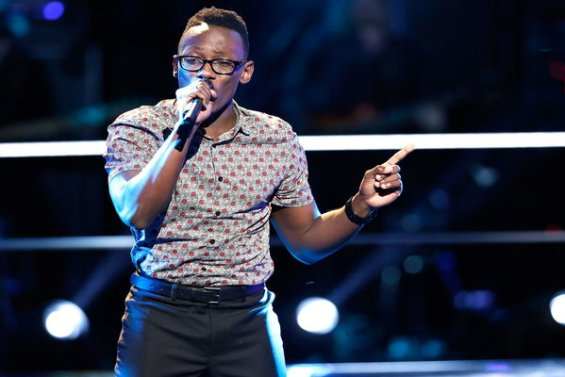 """Watch The Voice Season 10 The Knockouts Night Three: See Brian Nhira of Team Adam perform Bruno Mars hit song """"Grenade"""" on Monday, April 4th."""
