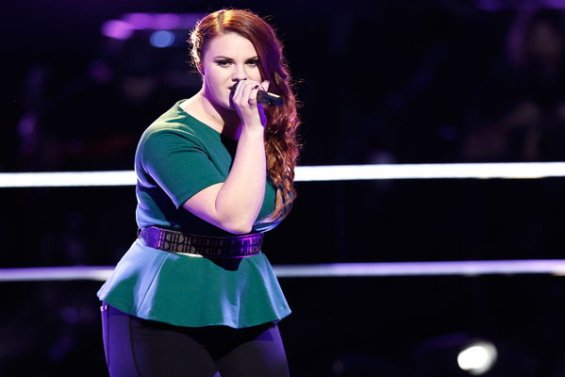 """Watch The Voice Season 10 Episode 12 The Knockouts Night Three: See Jessica Crosbie of Team Adam perform Avicii hit song """"Wake Me Up"""" on Monday, April 4th."""