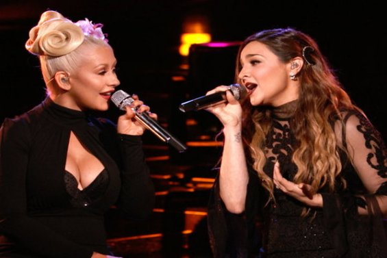 """Watch The Voice Season 10 Live Finale, Part 1 Episode 27: See Season 10 finalist Alisan Porter and her coach Christina Aguilera perform Carole King and James Taylor's amazing hit song """"You've Got a Friend"""" beautifully!!!"""