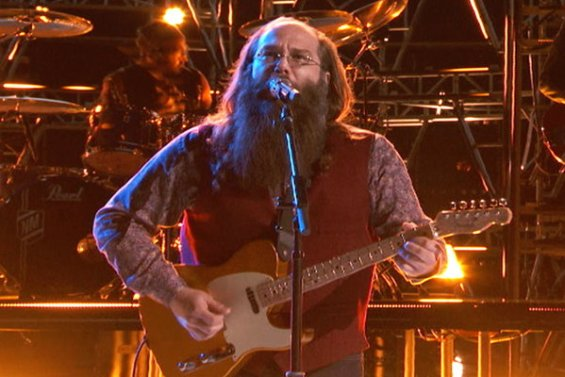 """Watch The Voice Season 10 Live Finale, Part 1 Episode 27: Team Adam Levine's finalist Laith Al-Saadi's cover of Cream's classic """"White Room"""" was fantastic! If you love this song, you'll definitely want to hear this time and time again."""