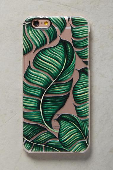 Casetify Palm Leaf iPhone 6 & 6 Plus Case Green