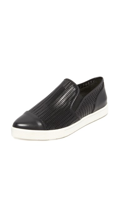 Vince Paeyre Slip On Sneakers Black