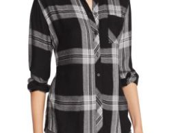 Rails Hunter Plaid Shirt Black Cinder Bloomingdale's friends and family sale
