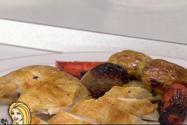 Watch chef Marc Murphy show Kathie Lee Gifford how to make delicious roasted chicken with vegetables, potatoes on the Friday, December 2, 2016 episode of the Today show.