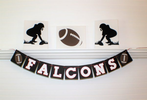 ATLANTA FALCONS SUPERBOWL Banner By ABannerBoutique