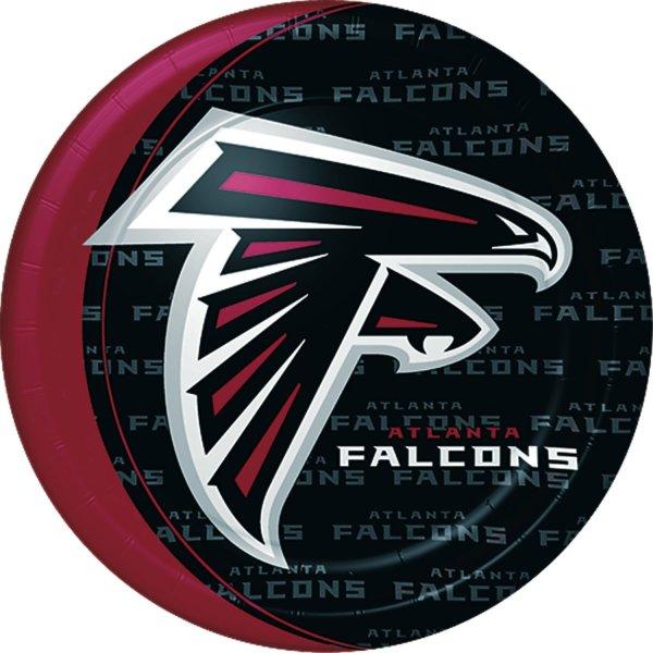 Atlanta Falcons Birthday Party Dinner Plates atlanta falcons super bowl li party