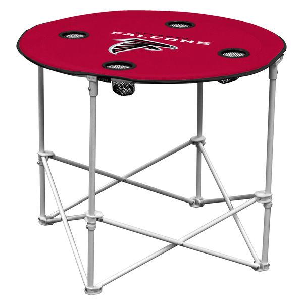 Atlanta Falcons Red Round Table atlanta falcons super bowl li party