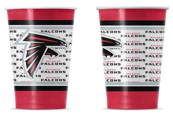 NFL atlanta falcons Disposable Paper Cups atlanta falcons super bowl li party