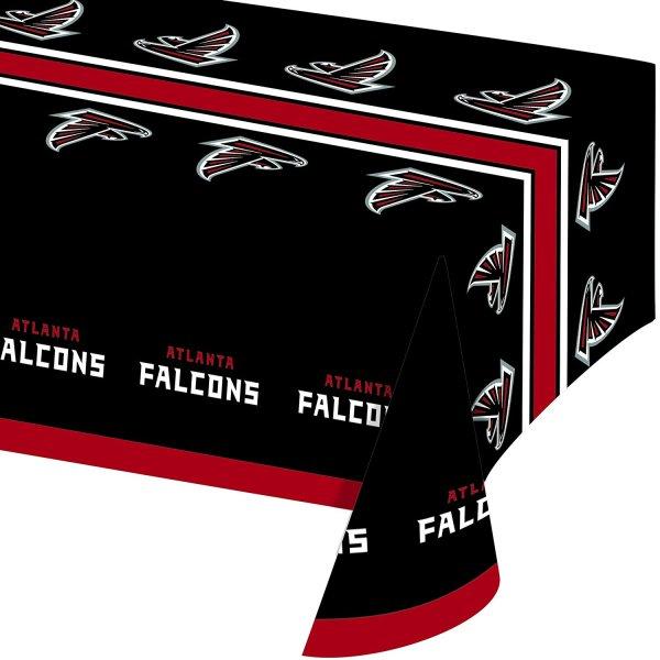 Creative Converting All Over Print Atlanta Falcons Plastic Banquet Table Cover