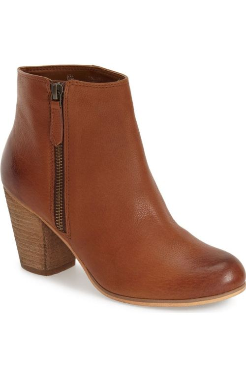 BP. 'Trolley' Bootie (Women) Cognac Burnished Leather Nordstrom winter sale