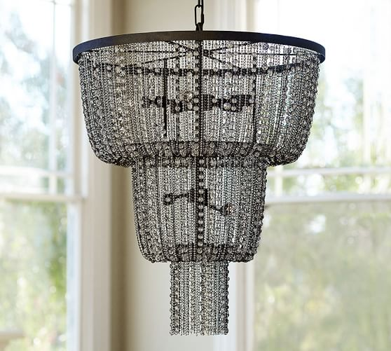 Pottery Barn ANISE CRYSTAL CHANDELIER pottery barn presidents day premier event sale