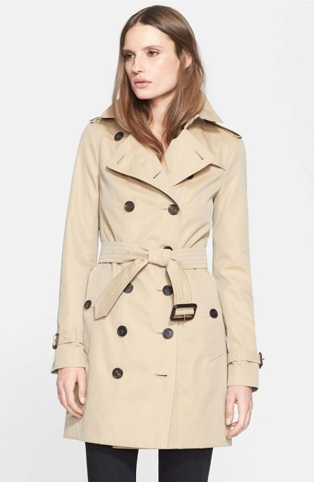 Burberry London 'Sandringham' Slim Trench Coat Honey  trench coats spring 2017