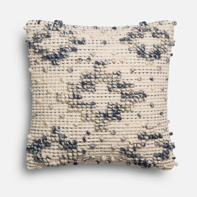 Magnolia Home Lexi Blue & Ivory Pillow magnolia home by joanna gaines for Pier 1