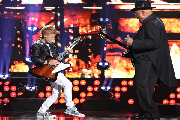 "Watch Little Big Shots Season 2 Episode 3 ""New Sheriff In Town"" Videos, Sunday, March 19, 2017. Meet 12 year old guitarist Toby Lee of England play the blues. He was inspired by BB King and has played tribute to the legend of blues. Be sure to watch video below of this talented musician."