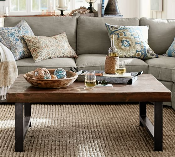 pottery barn coffee tables side tables