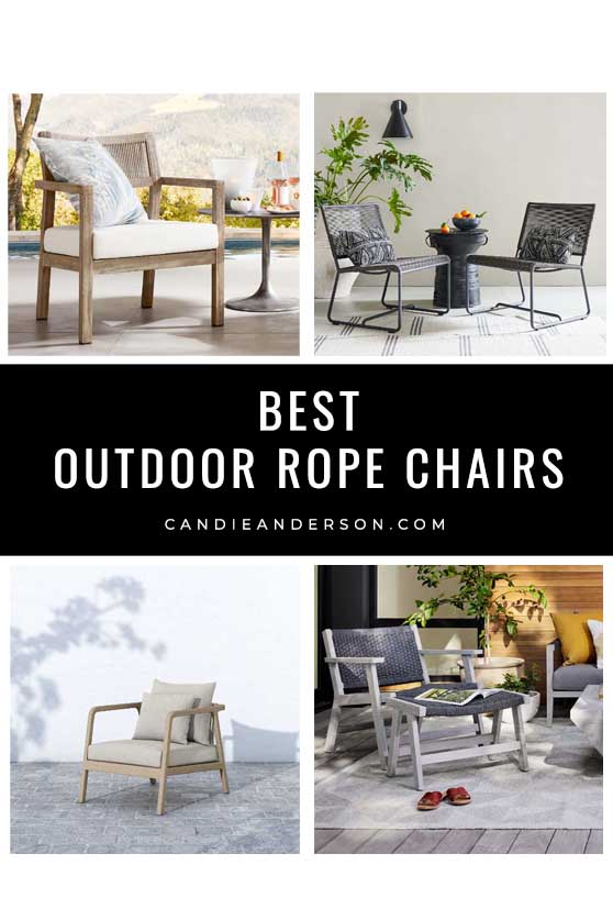 best outdoor rope chairs for your patio