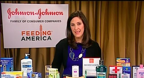Elizabeth Mayhew Healthy Essentials Johnson & Johnson Woman's Day